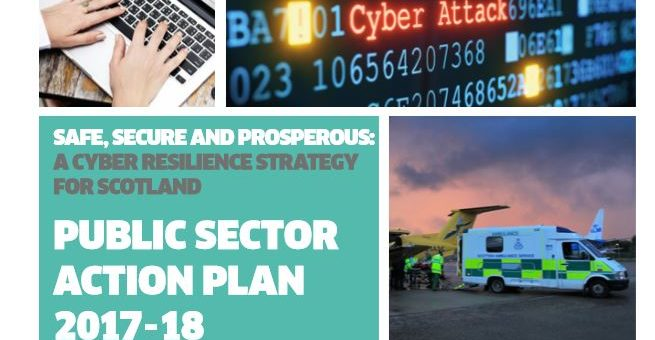 Scottish Government release their Cyber Resilience Public Sector Action Plan